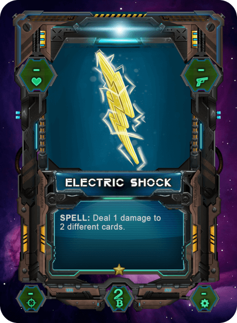 Electric Shock Card