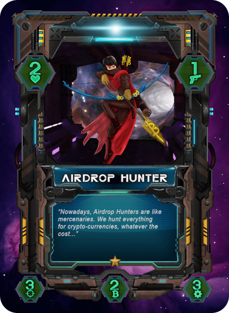 Airdrop Hunter Card