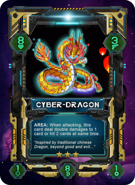 Cyber Dragon Card
