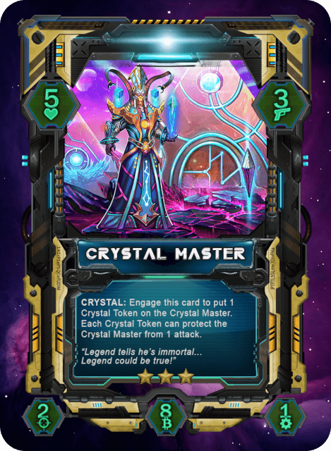 Crystal Master Card
